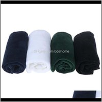 Durable Cotton Blend Golf Towel Light Weight Quick Drying Sports Hook Design Easy To Clean Sunscreen 40*32Cm Training Aids Ceq0B 0P2Kr