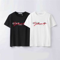2021 t-shirt عارضة نمط المرأة الرجال s الملابس البوليستر خطاب المواد نمط قصيرة الأكمام تيز بولو 2022