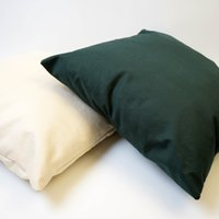 Cotton Cushion Cover Throw Pillow Covers Cushions Case for Sofa Bedroom Car Blank Pure Color 45*45cm 18*18in