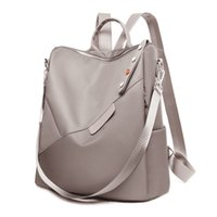 Oxford Women Backpacks Teenage Girl School Bags Fashion Lady Backpack Waterproof and Anti-theft Business Book 211025