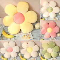 Küçük Papatya Çiçek Yastık Yastık Ev Dekorasyonu için Tatami Mat Araba Pad