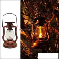 Portátil e Caminhadas Esportes Outdoorsportable Lanternas Retro Lâmpada Recarregável Recepção Luz de Luz Lanterna Lanterna Ao Ar Livre Acampamento