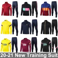 2021 2022 Yetişkin Koşu Futbol Eğitimi Eşofman Kitleri Erkekler Survetement Ayak Futbol Chandal Futbol Chándal Sportswear