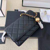 여성 디자이너 가방 핸드백 totes 어깨 크로스 바디 최고 품질의 클래식 스퀘어 커버 양피 체인 포춘 가방 12 * 19cm, 3 색 럭셔리 _BAGSHOP888 01021