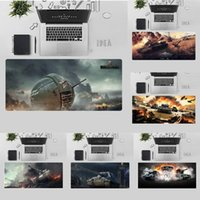 Mouse Pads & Wrist Rests Cool Wot Game Comfort Mat Gaming Mousepad Desk Table Protect Office Work Pad Non-slip Laptop Cushion