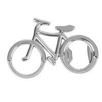 Retro Vintage Bicycle Shape Metal Beer Bottle Opener Wine Opener Cute Key Chain opener with Keyring Keychain Promotional Gift JJA238