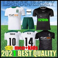 2021 2022 Borussia Mönchengladbach 120th Fussball Jerseys 21 22 Plea Thuram Ginter Benebaini Herrmann Embolo Männer Kinder Kits VFL Football Shirts Uniformen