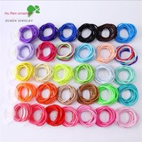 10pcs lot Hair Rubber Bands Children Girls Hair Bands Ring Fashion Circle Hairbands Baby Headbands Band Jewelry Headband Accessories H26K3QM