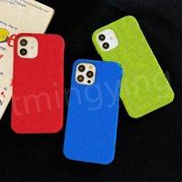 Top Designer Telefono Custodie per iPhone 12 Mini 11 Pro Max XS XR x 8/7 Plus Fashion L Custodia in rilievo Custodia per cellulare