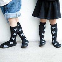 First Walkers Spring Summer Walker 2021 Fashion Baby Infant Toddler Girls Boys Shoes Socks Star Print Warm Prewalker