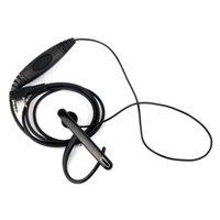 أدوات المركبات الأخرى 2-PIN الأذن بار سماعة ميكروفون السماعة ل Kenwood / Baofeng / Tyt / Wouxun راديو