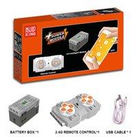 Blocks App RC Motor Compatible Lepinblocks Technic Car Train Train Remote Control Battery Función de energía 20086 20001 42056 Pieza de repuesto 1008
