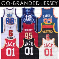 Rapper Jersey 88 Don No Limitsiz Travis Scott 01 Jack Bölgesi Harlem Villanova Co-Markalı Formalar