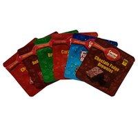 Sac d'emballage Voyages ahoy Pochette Canna Beurre Cannabutter Doritos 250 mg 500 mg Gummies Sacs édibles Soulier à l'odeur Mylar Emballage Mylar Emballage Ziplock Feuille d'aluminium pour Chocolat Trix