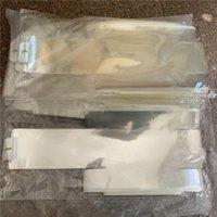 500 قطعة / الوحدة gree التفاف البلاستيك ختم فيلم مربع تغليف غشاء مغلف غشاء ل iph 11 برو 7 8 8p x xs xr ماكس الولايات المتحدة المملكة المتحدة نسخة الهاتف الخليوي