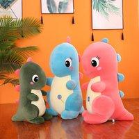 Подонс хлопчатобумажные кукла динозавров плюшевая игрушка захвата машина мягкая подушка тиранозавр REX подарок на день рождения