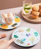 مقياس مطبخ رقمي 1-5000 جرام المنزلية عالية الدقة وزنها الرصيد الإلكترونية الوزن الغذاء قياس الطبخ جهاز المطبخ الخبز التبعي