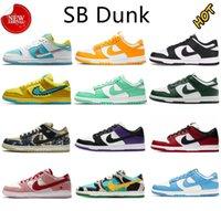 2021 أحدث SB مكتنزة dunky dunk رجالي أحذية FTC المجانية الجامعة الأزرق الأحمر كوست سيراكيوز الليزر البرتقال الكلاسيكية النكهات الأخضر منخفضة الرجال النساء المدربين أحذية رياضية 36-45