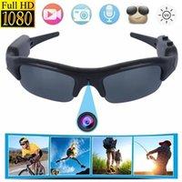 Мини-камеры Очки Камера DVR Солнцезащитные очки Цифровой видеорегистратор Видеокамера Защита глаз