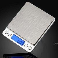 1000g / 0.01g Mini Silver LCD Scale numérique Bijoux Or Diamond Précision Pesée électronique Steelyard Home Cuisine Balances FWe10444