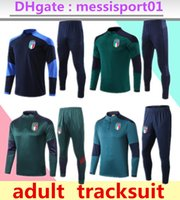2021 Italien Training Anzug Trainingsanzug Sportswear Camisa Italia Totti Pirlo Insignne del Piero 20/21 Chandal Futbol Football Camiseta