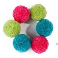 Colorido Rolling Ball Yarn Toy Interactive Cats Gatito Divertido Bolas Suministros para mascotas DWB6989