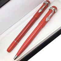 Penna famosa 1912 Serie del Patrimonio Red Color Special Edition Penna del regalo della penna nera della penna nera della penna nera con la clip del serpente unico