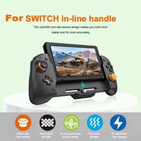 Game Controllers & Joysticks For Switch Handheld Controller Grip Console Gamepad Double Motor Vibration Built-in 6-Axis Gyro 3D Com