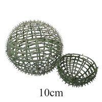 Decorative Flowers & Wreaths Green DIY Flower Ball Frame Round Background Party Supplies Shelves Durable Artificial Plant Wedding Decoration