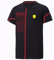 Özelleştirilebilir F1 Yarış Takım Elbise Yaz Kısa Kollu Tişört Formula 1 Takım Fabrika Üniforma