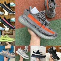 2021 Yekeil Yeshaya Satmak Siyah Statik Citrin Bulut Koşu Ayakkabıları Beyaz 3 M Yansıtıcı Sneakers Gid Glow Gerçek Formu Kil Yağı Mens Kadın Tasarımcı Eğitmenler X61