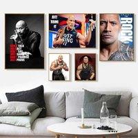 Der Rock Dwayne Johnson Movie Actor Wrestler Fitness Wandkunst Wohnkultur in Posterdruck oder Leinwand