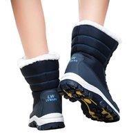 Frauen stiefel chaussures schnee winter schwarz rot womens boot schuh have warme weihnachten trainer sport turnschuhe größe 35-42 11