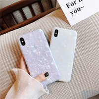 Glossy Marble Case For iPhone 12 mini 11 Pro Max X XS XR 6s 7 8 Plus SE Bling Shell Epoxy Silicon Glitter Soft TPU Cover