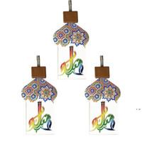 Ramadan Festival Party Lights 2 Meter 10 LED Star Mosque Light Light Lantern Eid Mubarak Strings Islam Decorazione dell'evento musulmana HWD5999