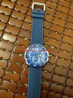 Montres classiques Mens Montres 42mm WSCA0011 Mécanique Saphir Saphir Verre En acier Bezel Bleu Caoutchouc Sangle De Luxe Montre Montre-Bracelet