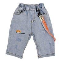 Boys Shorts Children Summer Kids Clothes Denim Hole Jeans Harem Pants Soft Baby Wear 2-6Y B5153