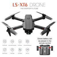 Sharefunbay Mini Drone XT6 4k HD Камера Визуальное позиционирование 1080P WiFi FPV Drone Prone Preservation RC Quadcopter Практика Дрон