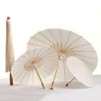 Chinesische Mini Handwerk Öl Papier Regenschirme Braut Hochzeit Sonnenschirme Regenschirm Retro Tanzstütze Ceeft Oberpaper 4 Größen Regenschirme BH1690 TQQ