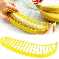 Vegetable Kitchen Dining Bar Easy Tool Home Garden Drop Delivery Banana Slicer Chopper Cutter Peeler Fruit Salad Sundaes Cereal LD14
