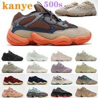 2021 kanye west x yeezy 500 500s shoes mens Runner shoes Enflame 500s soft vision stone bone white utility Desert Rat black Blue super moon reflective men women outdoor sneakers
