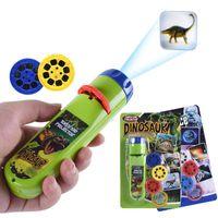 Balleenshiny игры Родитель-ребенок взаимодействие головоломки раннее образование светящиеся игрушка животных динозавров ребенок слайд проектор лампа детей игрушки OWF9928