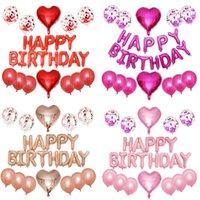 Mutlu Doğum Günü Balon Hava Mektupları Alphabe Ramazan Folyo Balonlar Çocuklar Oyuncak Düğün Parti Helyum Globos Partiler Malzemeleri 0151