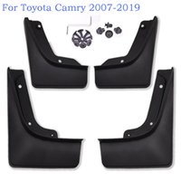 4шт 100% Оригинальные Черные Мягкие Пластмассы Автомобиль Передние Фендерные Задние Восплессные Гвардии для Toyota Camry 2007-2019 Грязные Брызги Грядные Греды