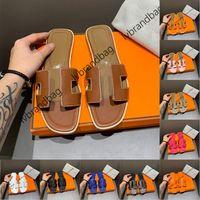 Luxus Designer Marke Wohnung Schaffell Slipper Echtes Leder Sandalen Frauen Damen Mädchen Home Hausschuhe Strand Schuhe Flip Flop mit Original Box