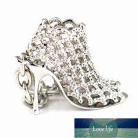 Gifts High Heel Keychains Stone Shoe Keyring Cute Women Handbag Key Holder Girl Bag Pendant Jewelry Christmas Party