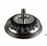 Alta qualità 79.3mm 304 Acciaio inossidabile Dreni da cucina in acciaio inox Lavello Sinvallo Stopper Scarto Plug filtro Bagno Basin Drein Drain EWD6369