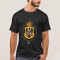 Camisetas de los hombres diseño creativo Imperio alemán Prusia Eagle Insignia Medal Impresa camiseta. Camiseta para hombre de manga corta de algodón de verano
