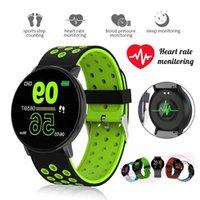 mart Watch Men Women Blood Pressure Waterproof Sport Round Smartwatch Smart Clock Fitness Tracker For Android IOS