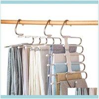 الشماعات الرفاقات الملابس التدبير المنزلي الرئيسية حديقة 5 في 1 بانت رف متعددة الوظائف hes الفولاذ المقاوم للصدأ متعددة الوظائف خزانة trouse